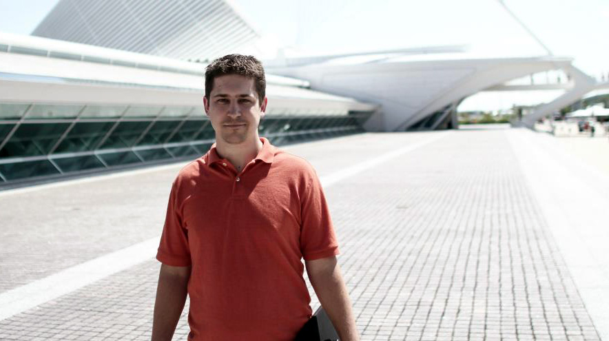Aaron at Milwaukee Art Museum